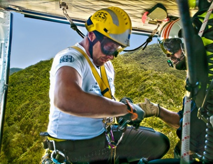 If I fear how the helicopter guys judge my tripin the rainforest, it´s actually my ownjudgment of the trip, that I fear.