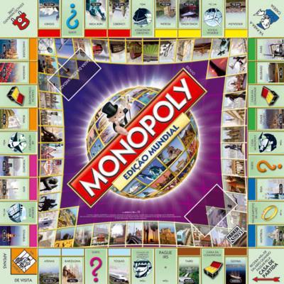 If you to go to jail in Monopoly you are not locked up behind heavy walls. There is nothing inside the houses, that you can buy and there are no roads to drive on. It is all make-believe. The graphic is grabbed from the web.
